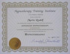 HTI Hypnotherapist Zertifikat