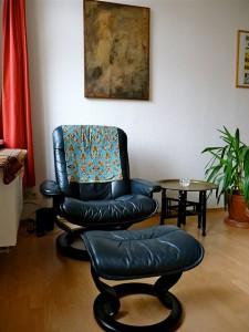 Hypnosetherapie, Mein Behandlungsraum