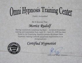 Zertifikat OMNI Hypnose-Ausbildung