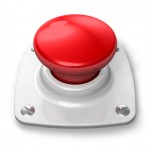 Panikattacken, Red alert button, Fotolia.de