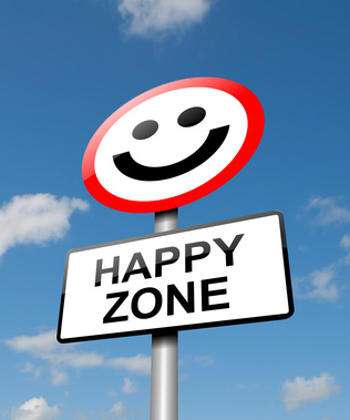 Lebensfreude und Erfolg, Happiness concept. © creative soul
