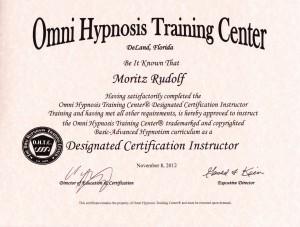 Hypnose Ausbildung mit Zertifikat