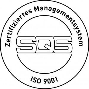 SQS zertifiziertes Management System nach ISO 9001